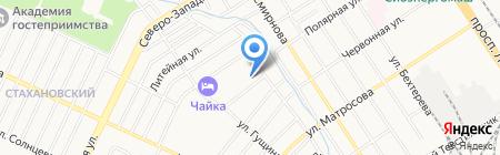 Алтайская краевая федерация джиу-джитсу на карте Барнаула
