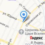 СеЗам на карте Барнаула