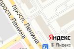 Схема проезда до компании Офис ТехСервис в Барнауле