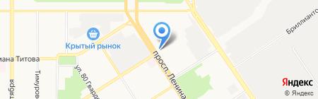 НСГ страхование жизни на карте Барнаула