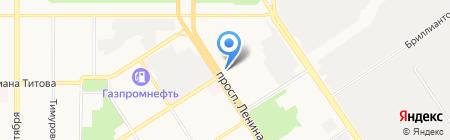 НебоЛэнд на карте Барнаула