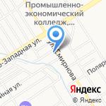 Калипсо на карте Барнаула