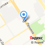 Сиблинк-Вент на карте Барнаула