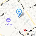 Золотой дракон на карте Барнаула