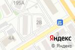 Схема проезда до компании Сибирские сети в Барнауле