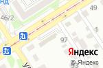 Схема проезда до компании Балкон строй в Барнауле