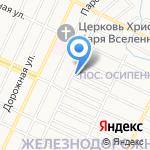 Бытовой сервис на карте Барнаула
