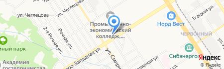 ФОРМУСПРОФИ на карте Барнаула
