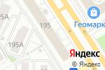 Схема проезда до компании АС Сервис в Барнауле