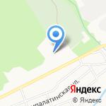 Перпетуум на карте Барнаула