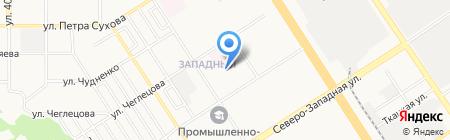 ЖЭУ №17 Октябрьского района на карте Барнаула