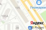 Схема проезда до компании МебельРФ в Барнауле