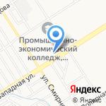 ТСЖ Уют-62 на карте Барнаула