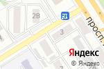 Схема проезда до компании АвтоШПОВ в Барнауле