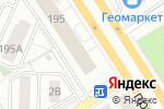 Схема проезда до компании Аспект в Барнауле