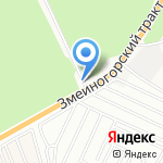 Ковчег на карте Барнаула