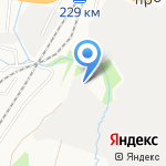 Баня на дровах на карте Барнаула
