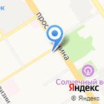 АвтоШПОВ на карте Барнаула