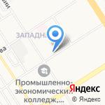 Родной хуторок на карте Барнаула