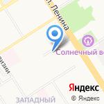 Власовы и компаньоны на карте Барнаула