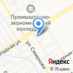 Спецавтоматика на карте Барнаула