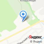 Семейный дом на карте Барнаула
