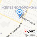 Любимчики на карте Барнаула