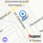 ТСК-МЕТАЛЛ на карте Барнаула
