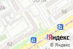 Схема проезда до компании Кабинет психолога в Барнауле
