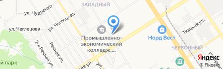 КанцЛидер на карте Барнаула