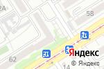 Схема проезда до компании Калатея в Барнауле