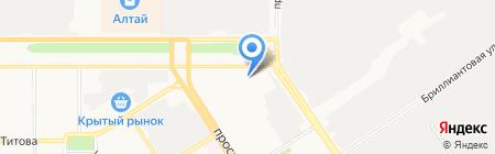 ЕнисейСпецПром на карте Барнаула