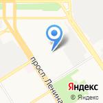 Барнаултеплопроект на карте Барнаула