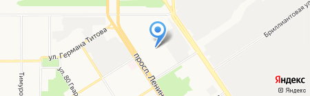 САММ на карте Барнаула