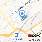 ФЛЭШ на карте Барнаула
