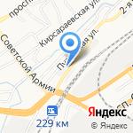 ТК Алтай-Ресурс на карте Барнаула