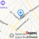 Пчелка на карте Барнаула