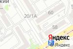 Схема проезда до компании Киоск по продаже рыбы в Барнауле