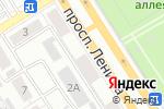 Схема проезда до компании Тефтелька в Барнауле