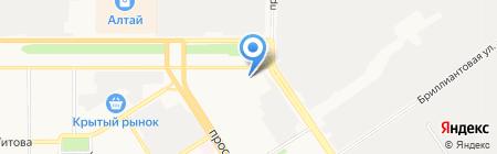 Федеральный центр благоустройства и обращения с отходами на карте Барнаула