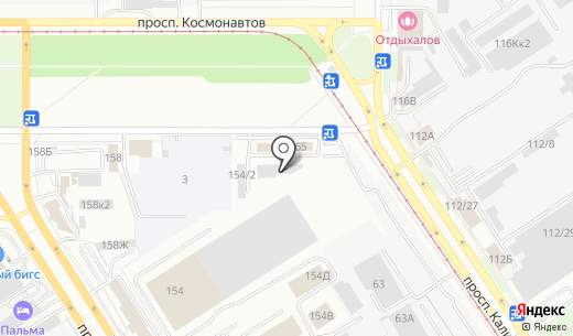 Технопром. Схема проезда в Барнауле