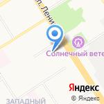 ДТП на карте Барнаула
