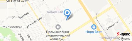 Продуктовый мир на карте Барнаула