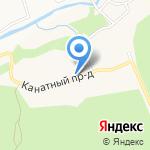 Следственный изолятор №1 на карте Барнаула