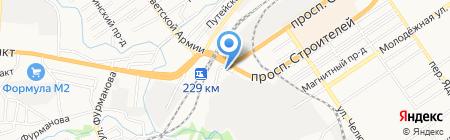 СВОЙ АВТОСЕРВИС на карте Барнаула