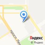 Стекло-дизайн на карте Барнаула