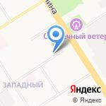 Соловушка на карте Барнаула