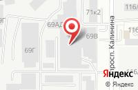 Схема проезда до компании Запсибэлектромонтаж в Барнауле