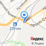 Сибпроектавто на карте Барнаула