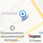 Горно-Алтайская на карте Барнаула